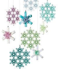 16 snowflake ornaments to help guarantee a white christmas