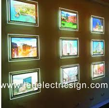 Lighting Frames High Quality Acrylic Led Poster Frame Advertising Led Light