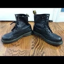 dr martens shoes black soft raw leather doc martens women s 7