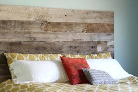 reclaimed wood king headboard diy ana white cal