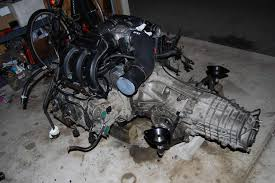 cayman 3 4 engine into boxster s 3 2 page 2 986 forum for vacuum lines were all factory looking i installed the engine and transmission into the car together requires the car to be lifted very high