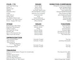 technical theatre resume templates high school theatre resume template sakusaku co