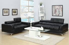 leather sofa sets. Brilliant Sofa 2PCS Black Bonded Leather Sofa Set Intended Sets O