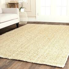 9 square rug casual natural fiber hand loomed ivory jute 9x9 area rugs