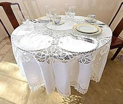 round tablecloth lace tablecloths round tablecloths round inches round white all cotton tablecloth weights dollar tree