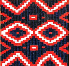 Navajo rug designs Small Art Needlepoint Navajo Rug Design