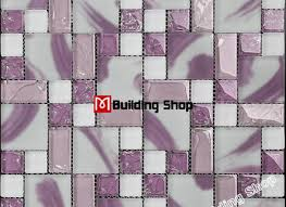 purple glass mosaic kitchen backsplash tile cgmt219 glass