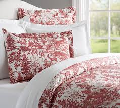 Alpine Toile Duvet Cover Sham Pottery Barn For Amazing House Red ... & 50 Best Superior Queen Duvet Covers Images On Pinterest Queen For Modern  Home Red Duvet Covers Plan ... Adamdwight.com