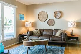 living room tan couch ideas bright turquoise rug look