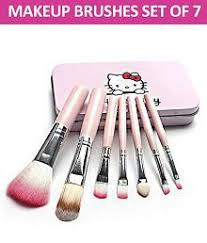 2 added makeup fever o kitty professional makeup brushes synthetic set