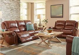 traditional leather living room furniture. Abruzzo Brown 5 Pc Reclining Leather Living Room Traditional Furniture W