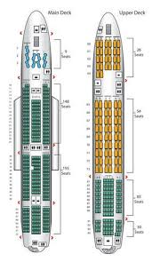Air France A380 800 Seat Chart Air Frances Three Class A380 Has A Small Economy Section