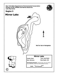 Mirror Lake Nys Dept Of Environmental Conservation