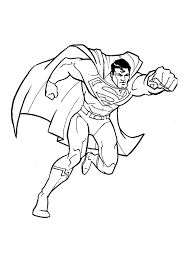 Small Picture Superman Superhero Superman Coloring Pages To Print Out