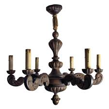 pair of late th century italian gilded wooden chandeliers with wooden chandeliers pixball