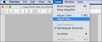 adjust size of image how to resize photos on mac using preview app