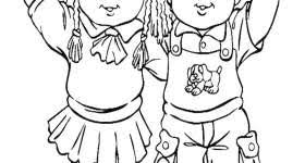 Cabbage Patch Kids Disegni Da Colorare Mondo Bimbo