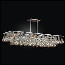 modern rectangular chandelier genesis 635gd39sp