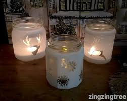 Decorating Jam Jars For Candles Easy DIY Frosted Glass Jam Jar Luminaries 30