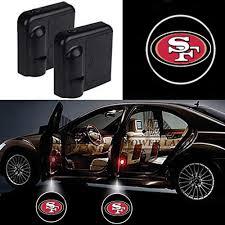 49er Lights For San Francisco 49ers Car Door Led Welcome Laser Projector Car Door Courtesy Light Suitable Fit For All Brands Of Cars San Francisco 49ers