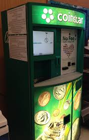 Gift Card Vending Machine Locations Mesmerizing Turn Spare Change Into Amazon Gift Certificates For Free With Coinstar