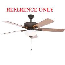 hampton bay rothley 52 in indoor oil rubbed bronze ceiling fan blade bracket