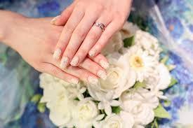 指先を結婚式の思い出に 残せる優秀ネイルネイルチップに注目