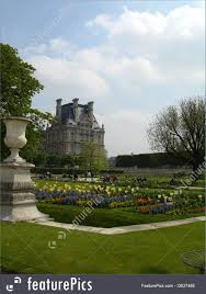 luxembourg gardens paris royalty free stock image