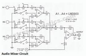 audio mixer amplifier circuit diagram awesome legendtronics Wiring Audio Mixer audio mixer amplifier circuit diagram awesome legendtronics