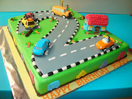 2 Year Birthday Themes Cars And Trucks Birthday Cake Google Search Car Cakes