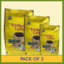 Mylapore gets only better with time and more iconic brands moving in. Cothas Coffee South Indian Filter Coffee Pack Of 3 Each Pkt 1 Lb 454 Gms B A Amazon Com Grocery Gourmet Food