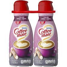 Rather than pouring it into your coffee, you simply take it out of the pouch by the teaspoon (2 is recommended for a regular sized cup. Coffee Mate Liquid Italian Sweet Cream Non Dairy Creamer Bjs Wholesale Club