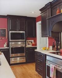 Transitional: The carefully chosen colors and textures work together to  create an enjoyable style. | Visual Dictionary | Pinterest | Kitchens,  Brown painted ...