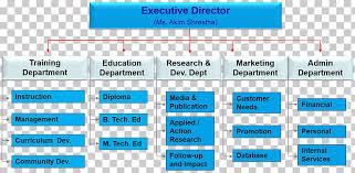 Organizational Structure Organizational Chart Training And