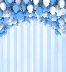 Us 37 99 Kate Photography Backdrops Balloon Background Backdrop Blue Children Birthday Photos Children Photo Background For Photo Studio In
