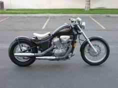 honda shadow vlx 600 bobber ride blue collar bobbers pinterest