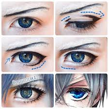 best 25 anime cosplay makeup ideas on