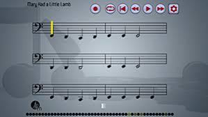 Clarinet Finger Chart Mary Had A Little Lamb Playalong Bass Clarinet App Atplaymusic
