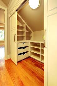 knee wall ideas closet in modern home interior design with plans