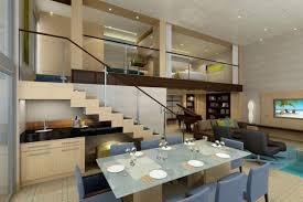 Dining Room  Interior Creative False Ceiling Lights In Gypsum - House interior ceiling design
