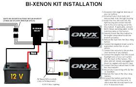 bi xenon hid conversion kit installation guide onyx performance hid relay harness purpose at Hid Kit Wiring Harness