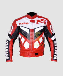 yamaha r6 red white motorcycle outfit
