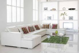 Charming White Living Room Ideas With Tile Floor Decor Ceram Living
