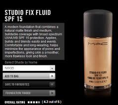 mac studio fix fluid nc35 swatch review and fotd