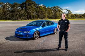 Holden Design Centre Craig Lowndes Reveals Completed Holden Project Monaro Prize Car