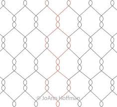 Chicken Wire Panto | JoAnn Hoffman | Digitized Quilting Designs & Digital Quilting Design Chicken Wire Panto by JoAnn Hoffman. Adamdwight.com