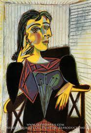 portrait of dora maar by pablo picasso