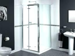 bi fold frameless glass shower doors bi fold glass shower doors large size of glass shower