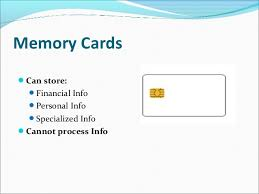 Personal Info Cards Smart Card Technology