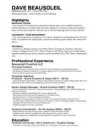 Resume Edge Resume Dave Beausoleil 94